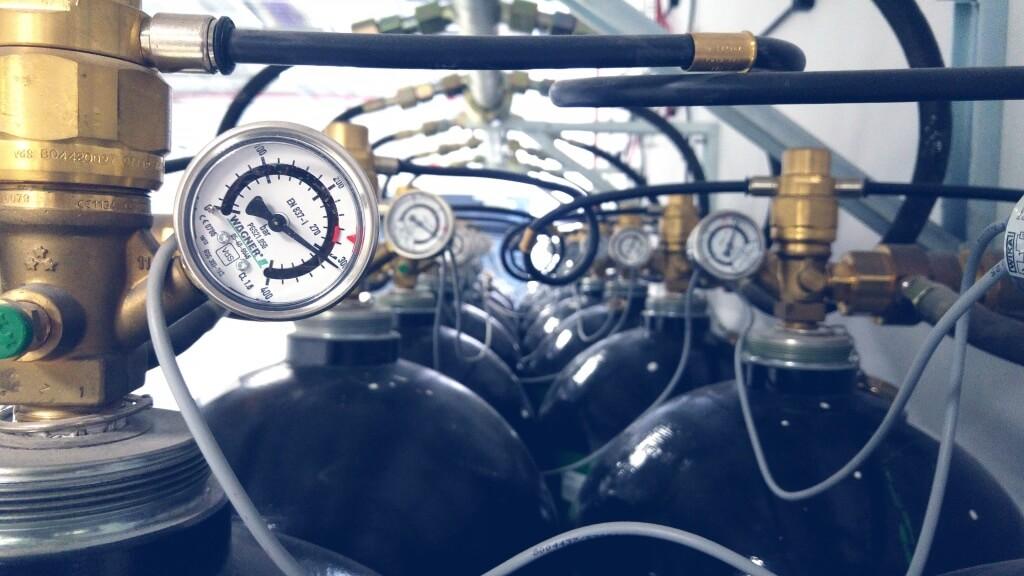 Butle systemu gaszenia gazem