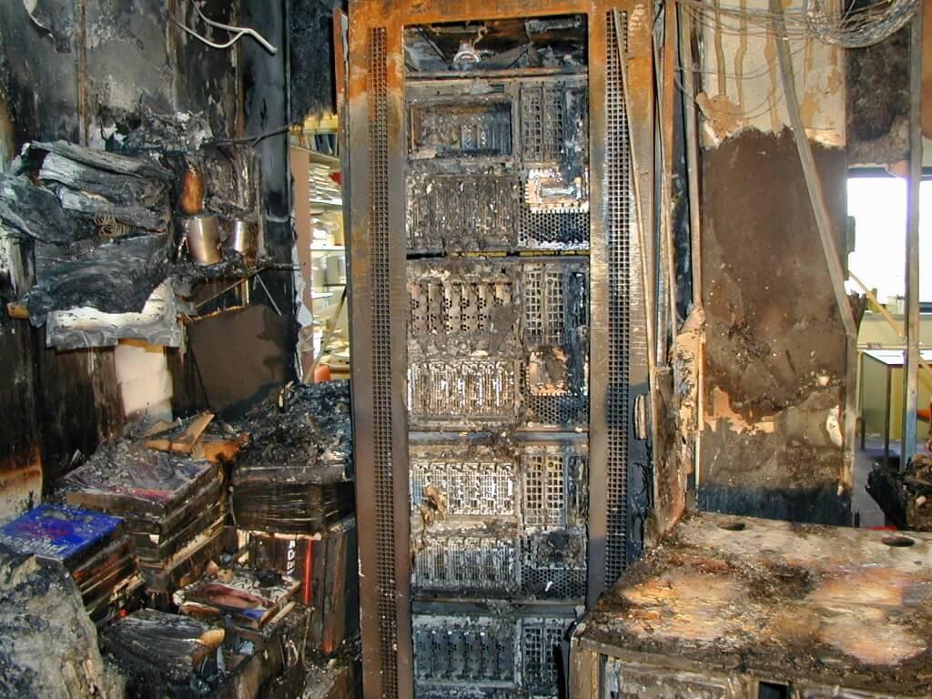 pożar w datacenter