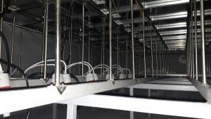 Ruszt podłogi technicznej Data Space