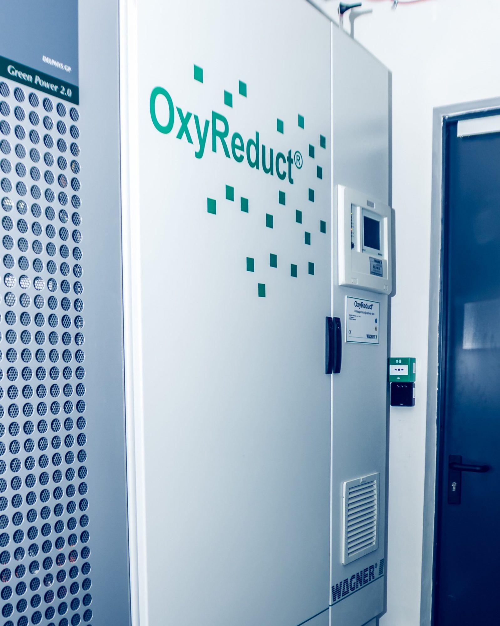 OxyReduct system serwerownia