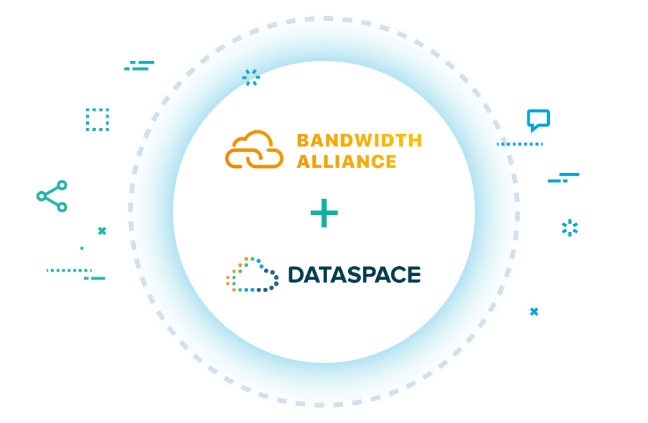 Bandwidth Alliance + Data Space
